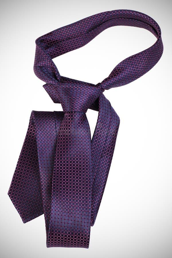 Violet tie stock image