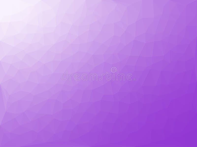 Violet triangular pattern - triangles mosaic. Vector illustration vector illustration