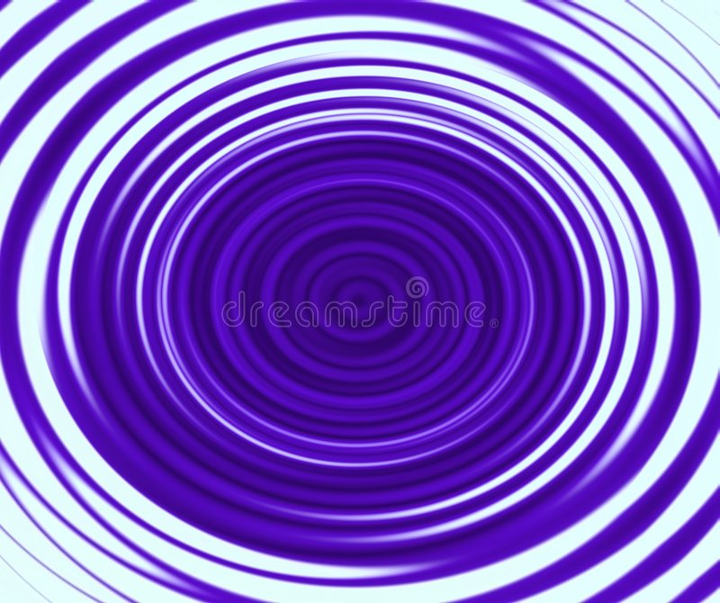 Violet twirl. Abstract computer illustration of violet twirl royalty free illustration