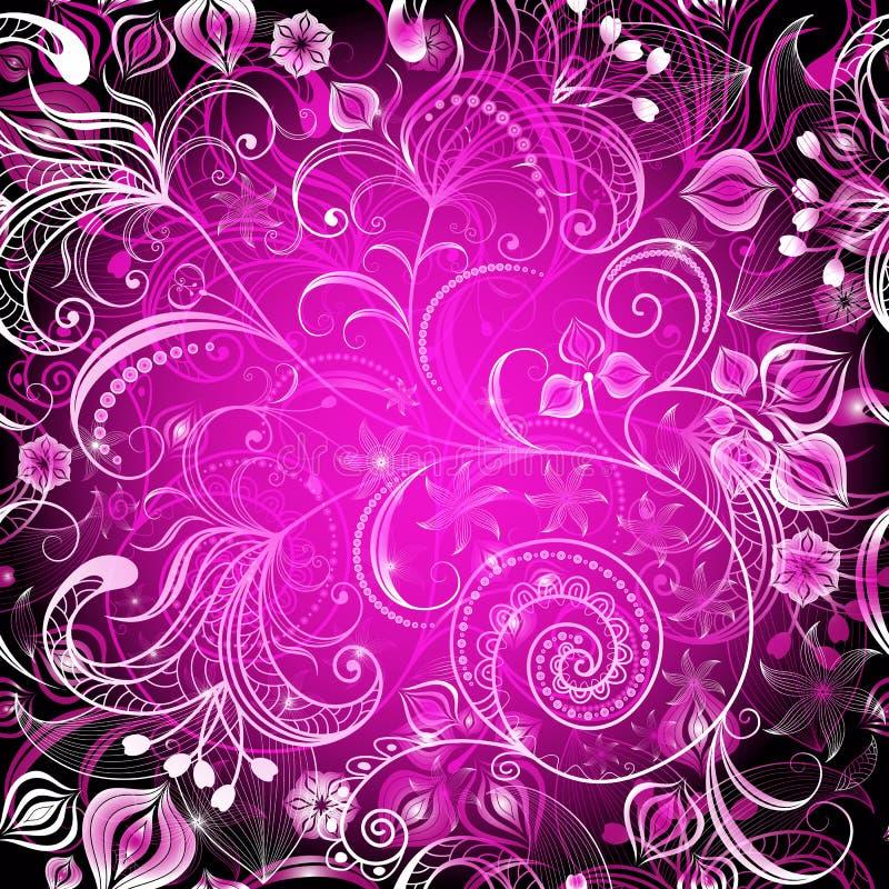 Download Violet Vivid  Floral Frame Royalty Free Stock Photos - Image: 23849308