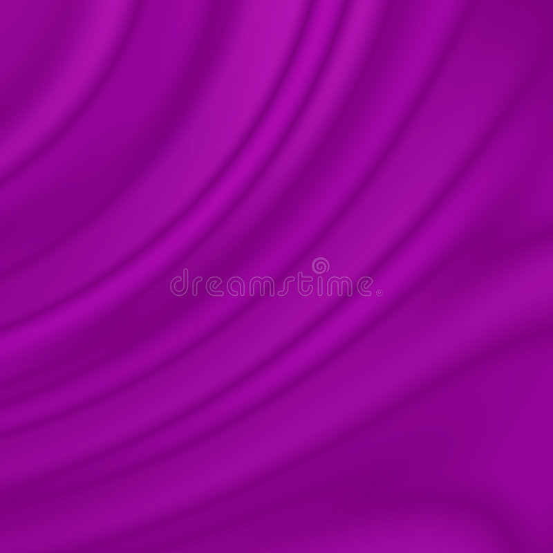 Violet wavy curves. Abstract background stock illustration