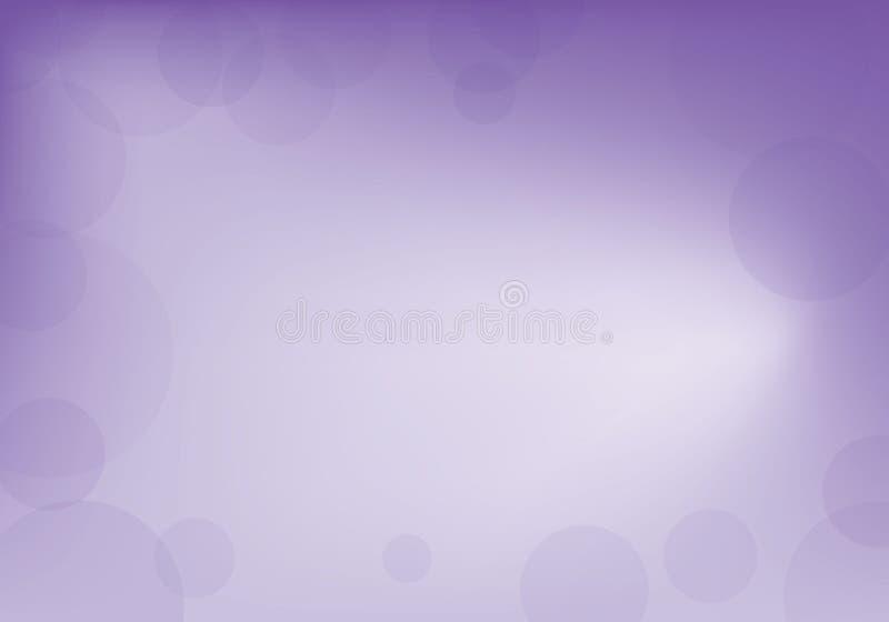 Violeta abstrata e fundo branco ilustração royalty free