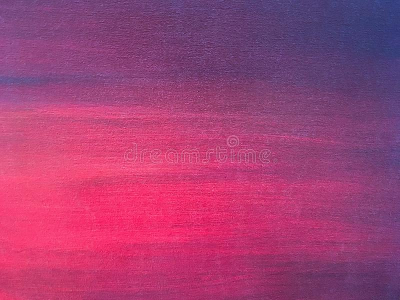 Violeta de pintura abstrata do fundo da arte e cores roxas foto de stock royalty free