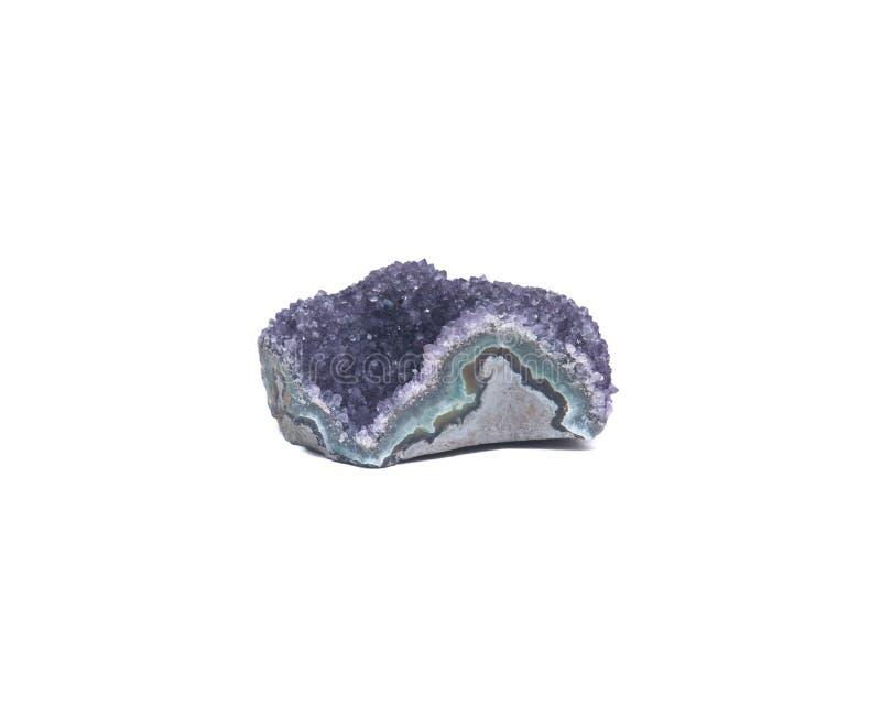 Violetkleurige druze cluster stock fotografie