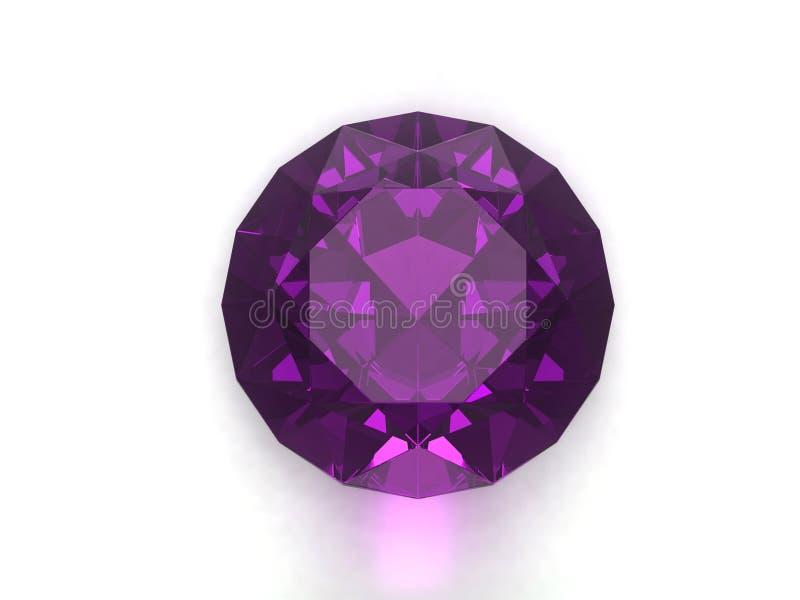 Violetkleurige gem royalty-vrije stock foto's