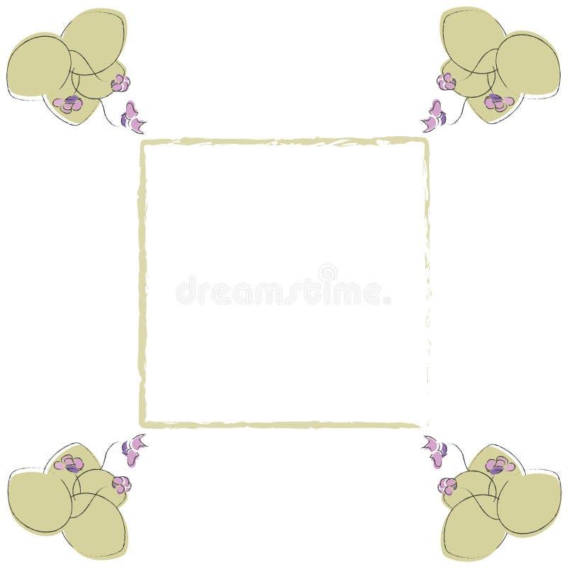 violett royaltyfri illustrationer