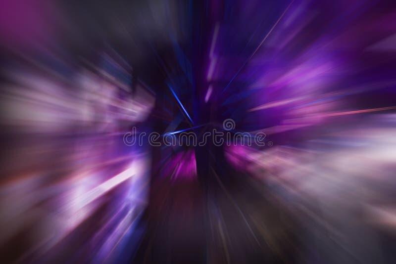 Violett hastighet royaltyfri fotografi
