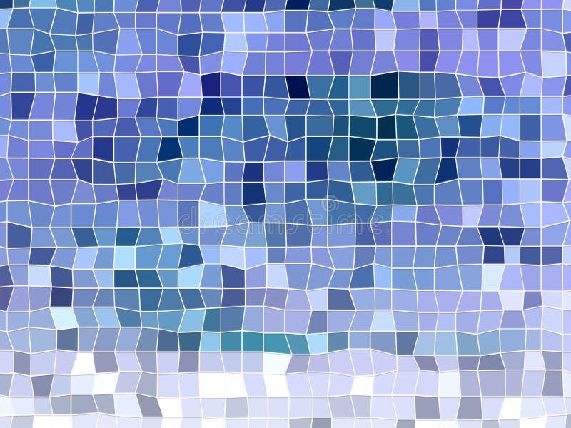 Violett mosaikbakgrund royaltyfri bild