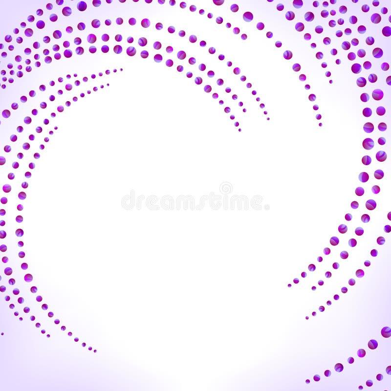 Violette abstracte achtergrond stock illustratie