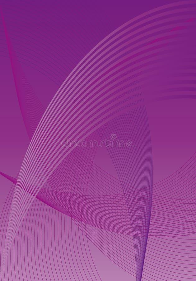 Violette abstraite illustration de vecteur