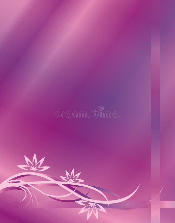 Violette achtergrond stock illustratie
