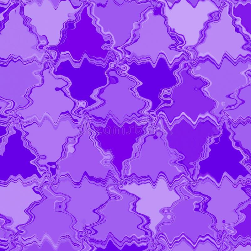 Violette achtergrond met de de abstracte lijnen en strepen van driehoekenveelhoeken in modern kunstontwerp als achtergrond royalty-vrije illustratie