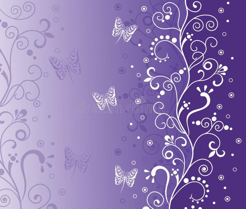 violette de fond illustration libre de droits