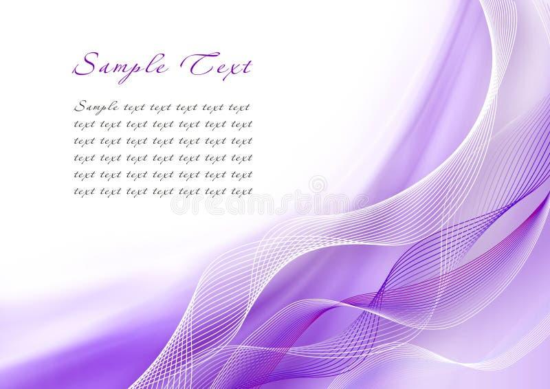 Violette Hintergründe stock abbildung