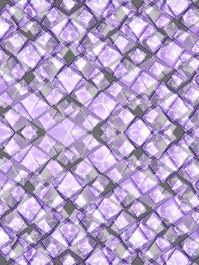 Violette juwelen royalty-vrije stock afbeeldingen