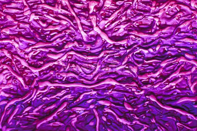 Violette und purpurrote abstrakte Nachahmung der hölzernen Barkenbeschaffenheit stockfotos