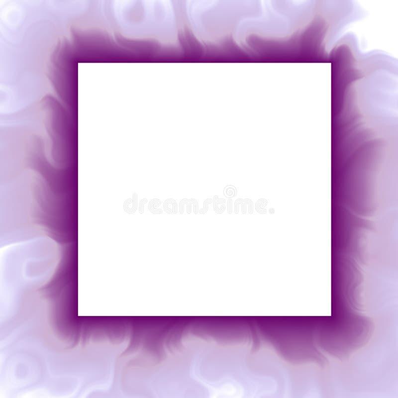 Violetter abstrakter Feldhintergrund vektor abbildung
