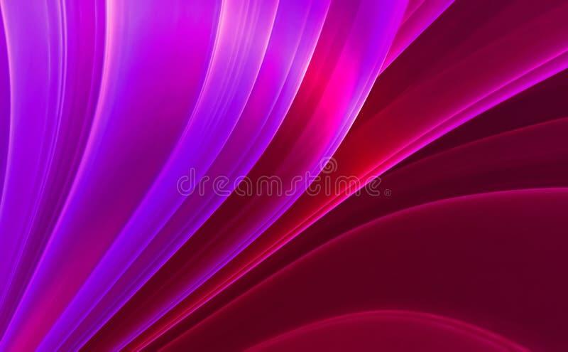 Violetter abstrakter Hintergrund stock abbildung