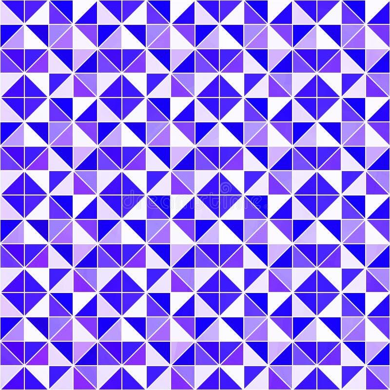 Violetter dreieckiger Hintergrund Moderner geometrischer Hintergrund des Vektors mit Dreiecken Helle Farben Abstrakte Beschaffenh lizenzfreie abbildung