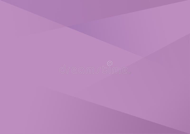 Violetter linearer Formhintergrund-Steigungshintergrund lizenzfreie abbildung