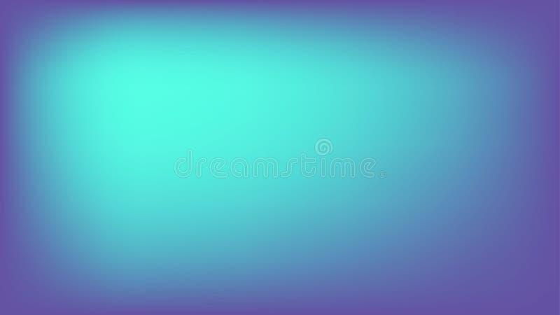 Violetter und hellblauer abstrakter Steigungsmaschen-Vektorhintergrund lizenzfreie abbildung