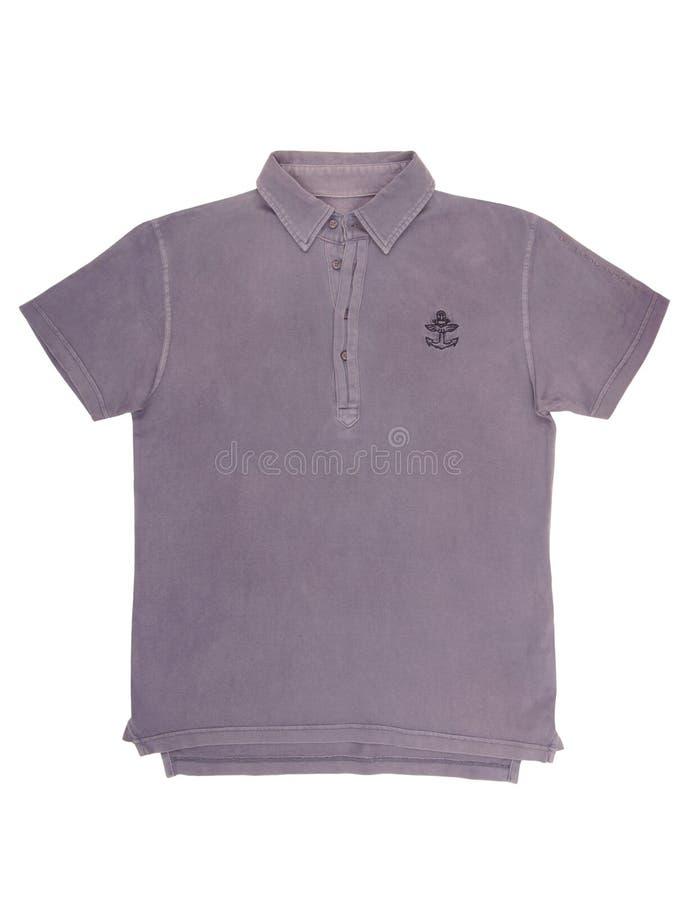 Download Violettes T-Shirt, Polohemd Stockfoto - Bild von niemand, mann: 96935182