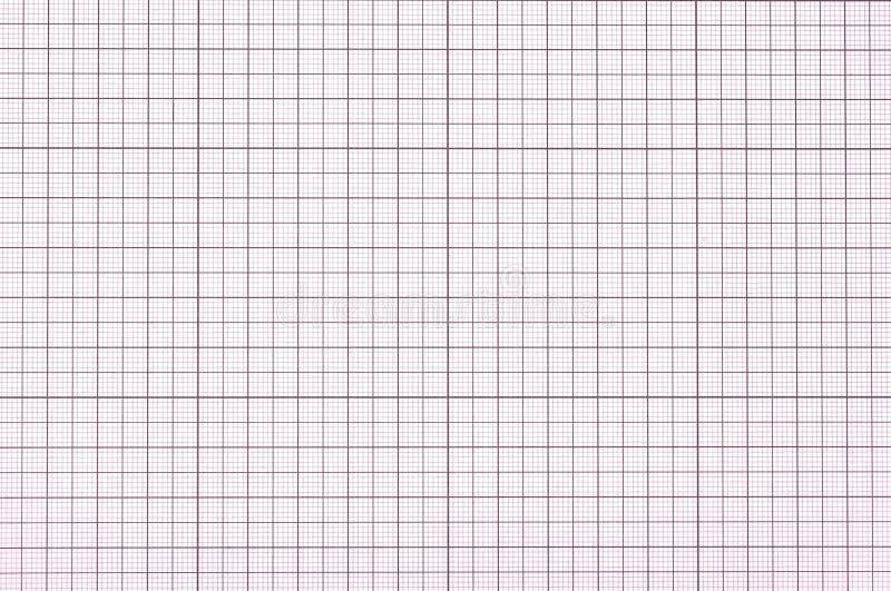 violettes Zeichenpapier mit Maßeinteilung lizenzfreie stockbilder