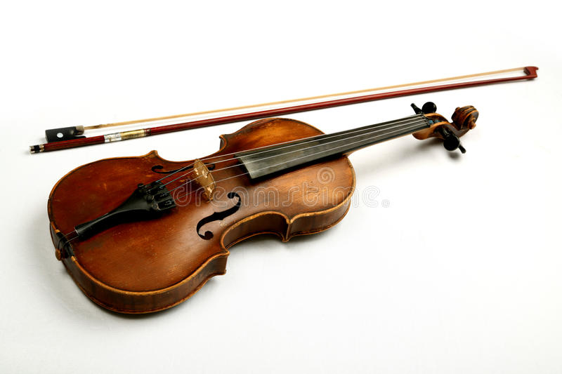 Download Violin stock image. Image of white, foreground, selective - 15182989