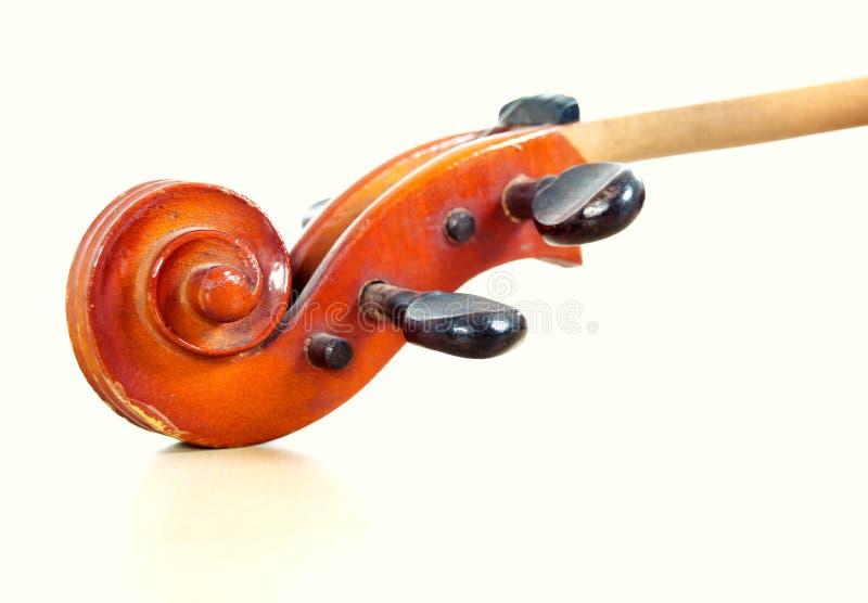 Violin. Classic violin design on white background stock photos