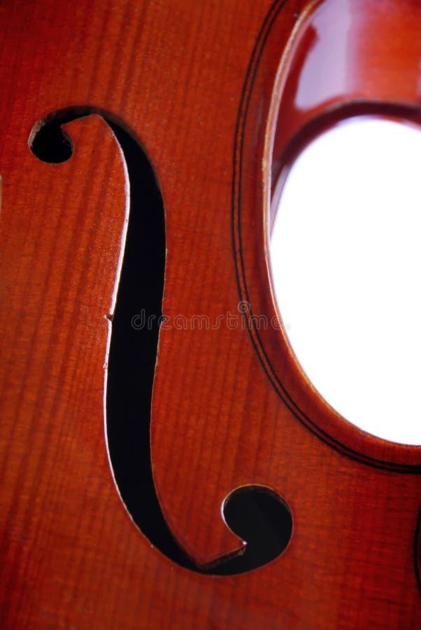 Violin. Alto part close up stock photos