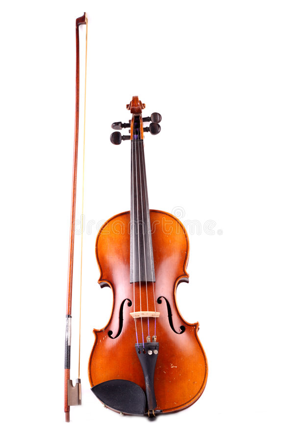 Violin. Old and antique classical instrument named violin stock photos