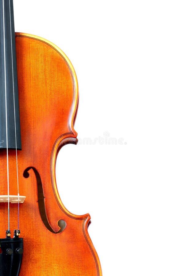 Violin. Detail of very beautiful violin royalty free stock photography