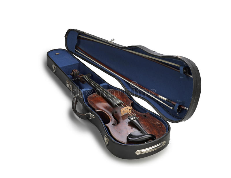 Download Violin in a case stock image. Image of white, dublin - 25347133