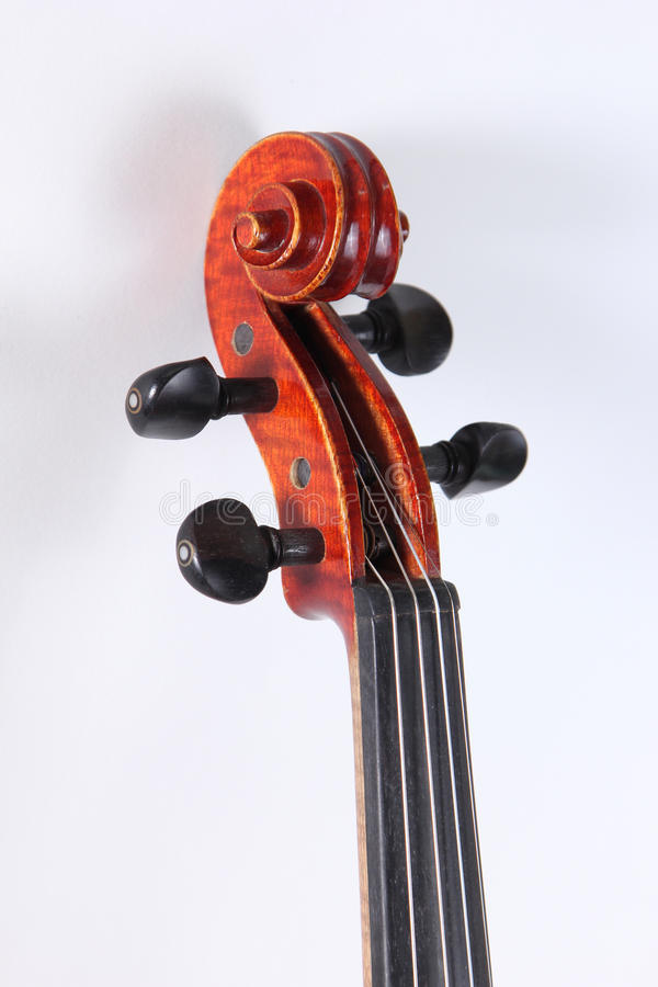 Violin classical music instrument. Violin a classical music instrument royalty free stock images