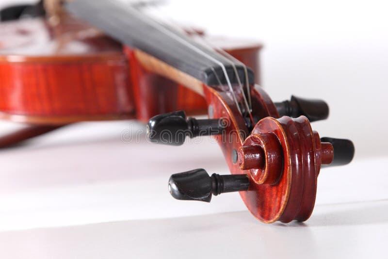 Violin classical music instrument. Violin a classical music instrument royalty free stock photo