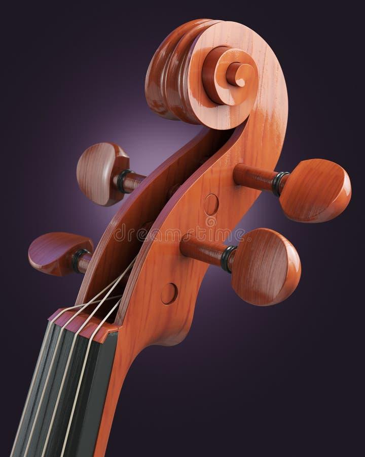 Violin Close-up Stock Image