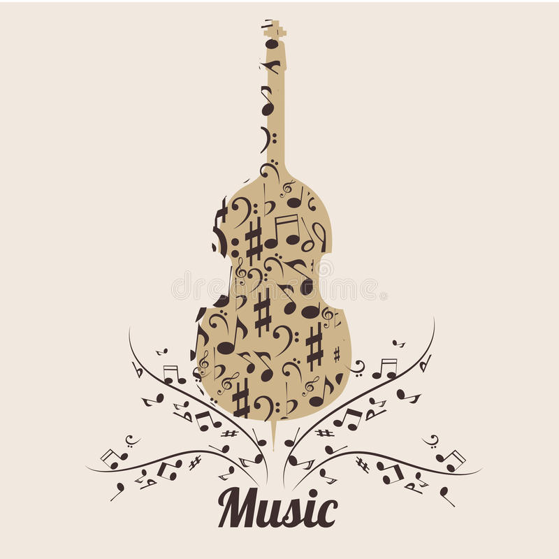Download Violin stock vector. Illustration of join, text, music - 34946154