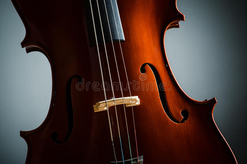 Download Violin in dark room stock image. Image of baroque, color - 29916625