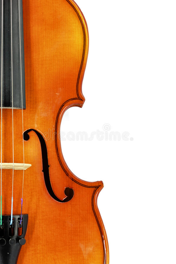 Violin detail stock images
