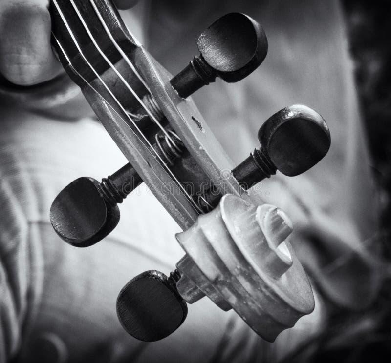 Violin Details Royalty Free Stock Photos