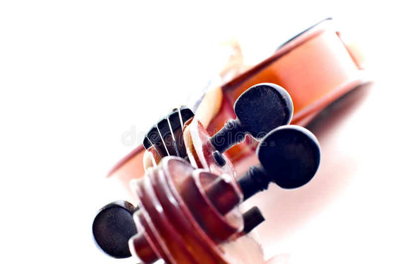 Violin head royalty free stock photography