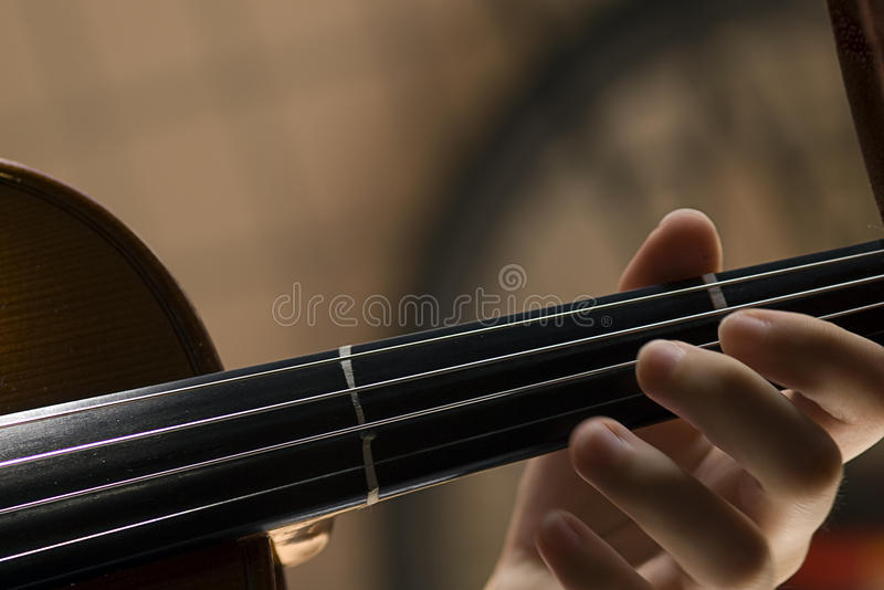 Download Violin with little dust stock photo. Image of concert - 11208328