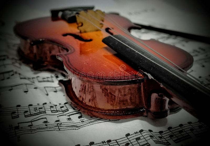 Violin. Music instrument Violine noperson royalty free stock photo