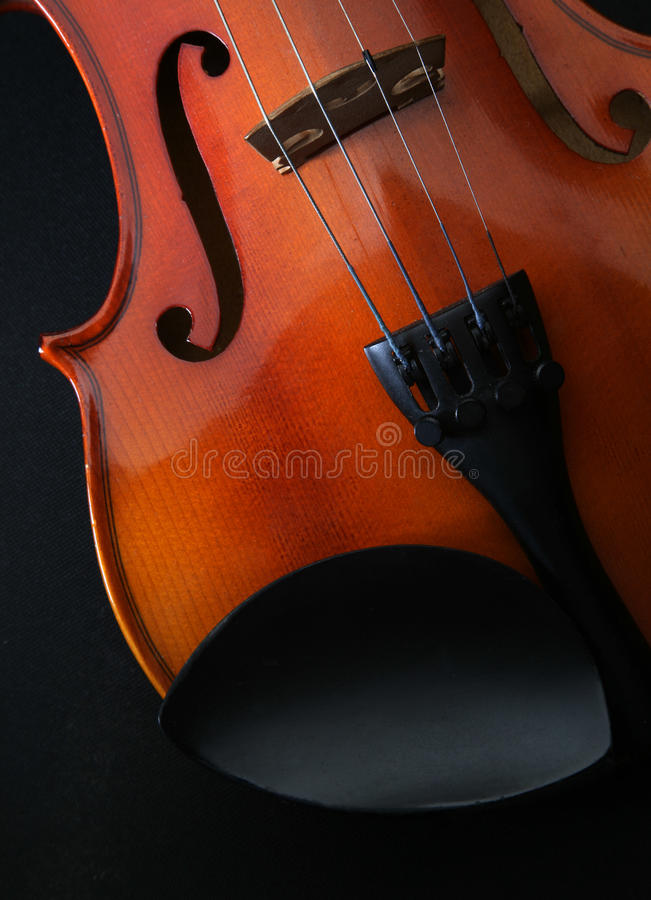 Violin music instruments royalty free stock photos
