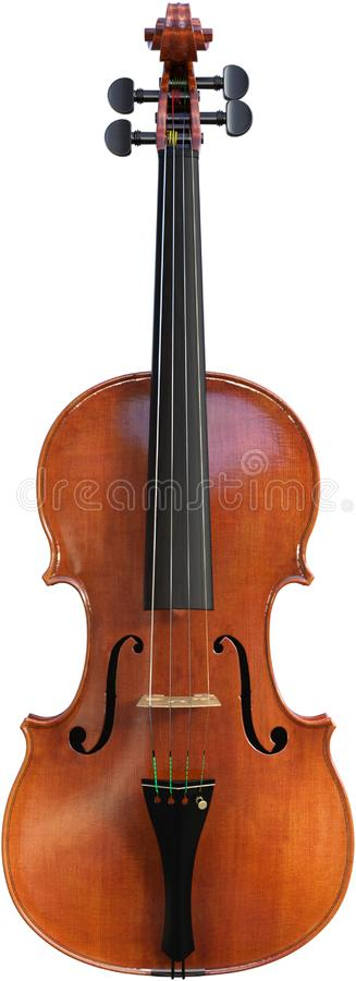 Violin, Musical String Instrument, Isolated, Music. Illustration of a violin string instrument. The stringed classical and musical piece produces wonderful and stock photos