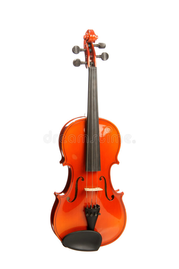 Free Violin On White Stock Photography - 6242192