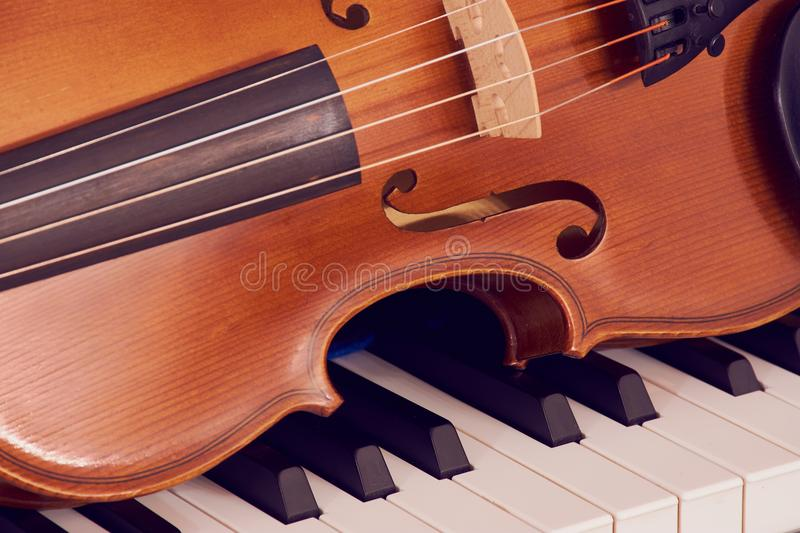 Violin Lying Down On White Bac Stock Photo Image Of