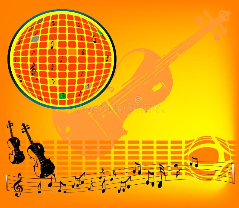 Download Violin sounds stock vector. Illustration of illustration - 6329390