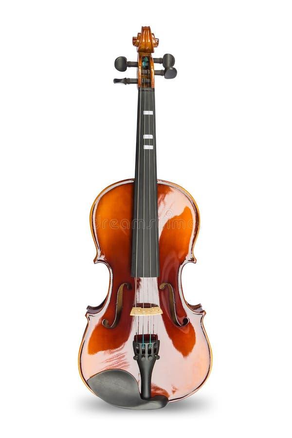 Violin on white background royalty free stock photo