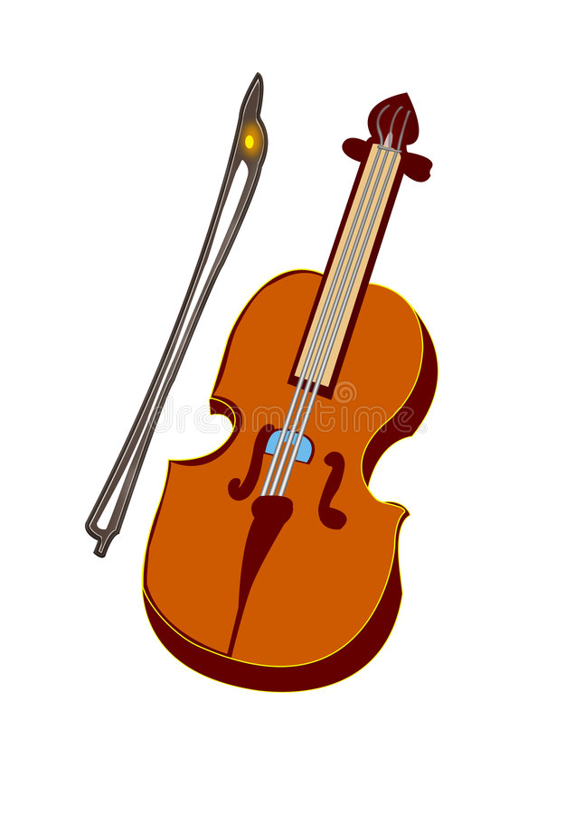 Download Violine stock abbildung. Illustration von kategorie, musikalisch - 9077091
